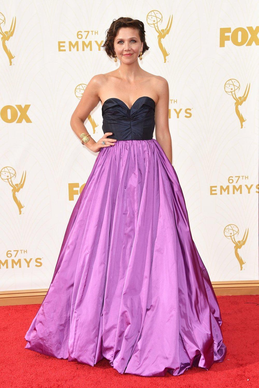 Maggie Gyllenhaal in Oscar de la Renta