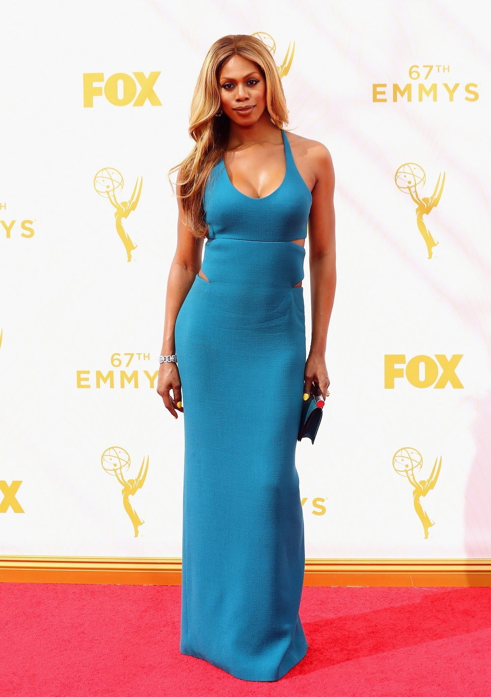 Laverne Cox in Calvin Klein Collection
