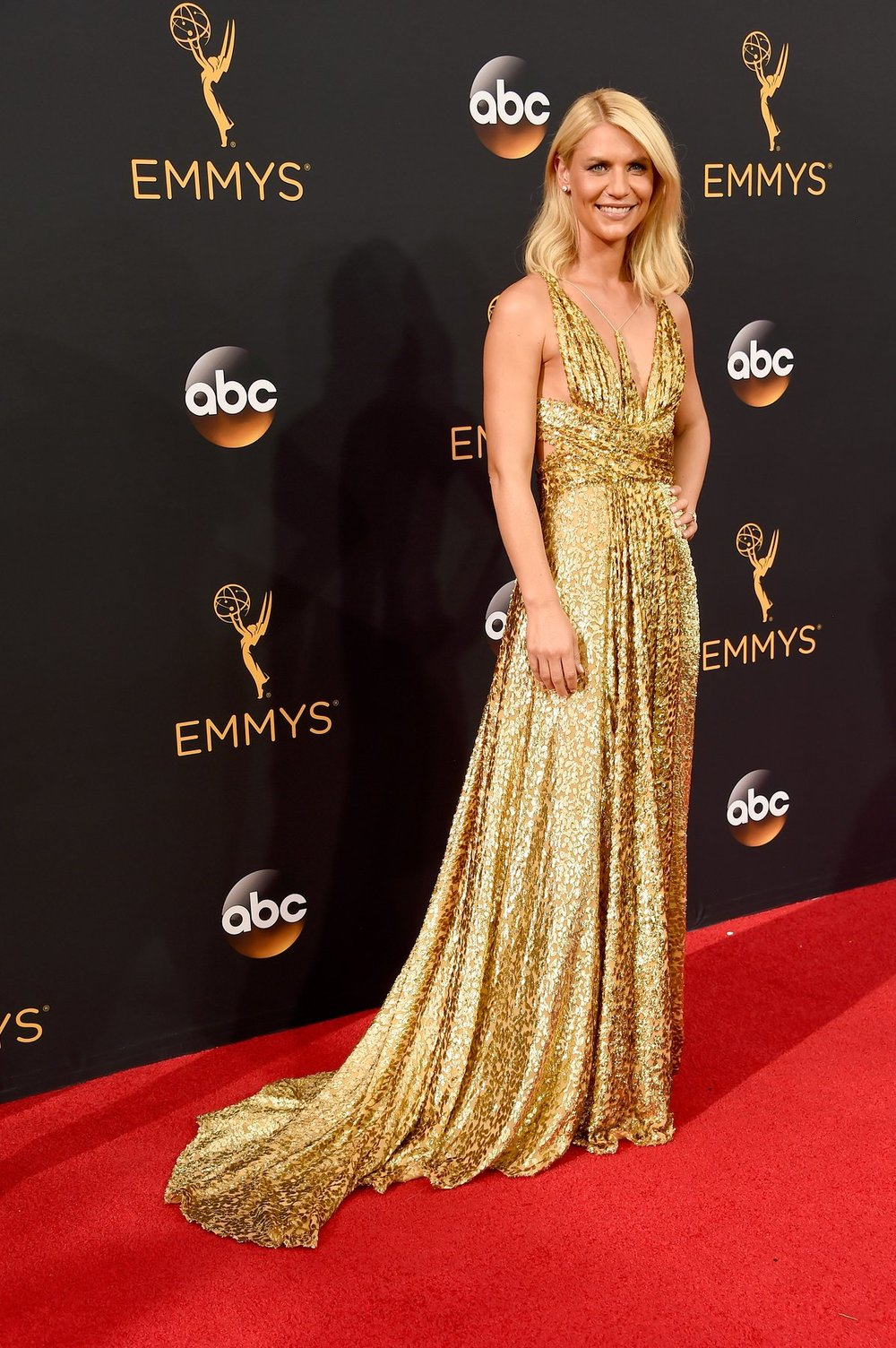 Claire Danes in Schiaparelli couture