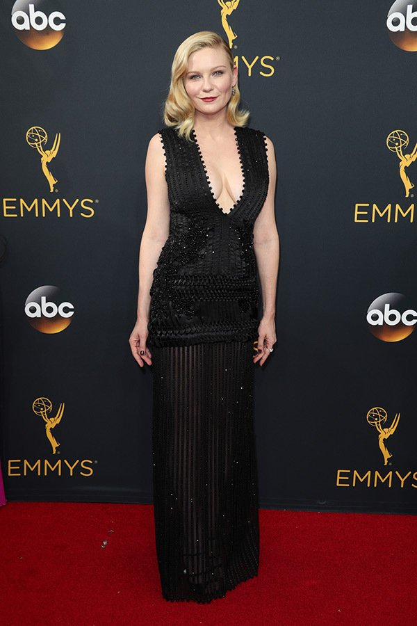 Kirsten Dunst in Givenchy couture