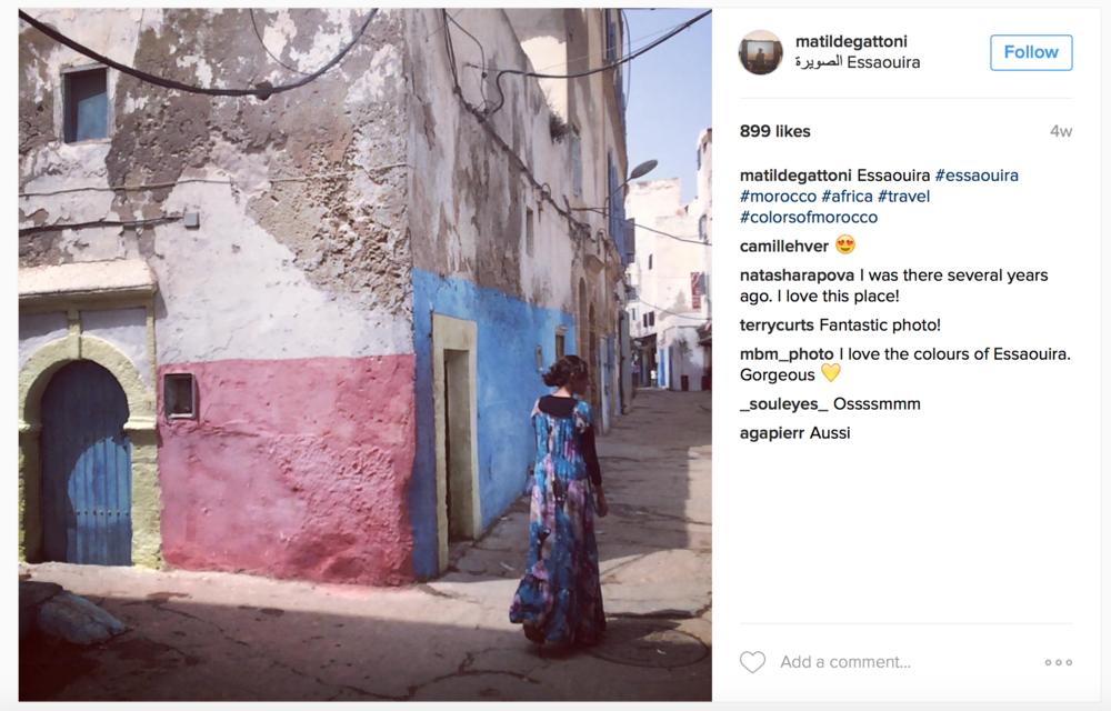 image: MatildeGattoni Instagram