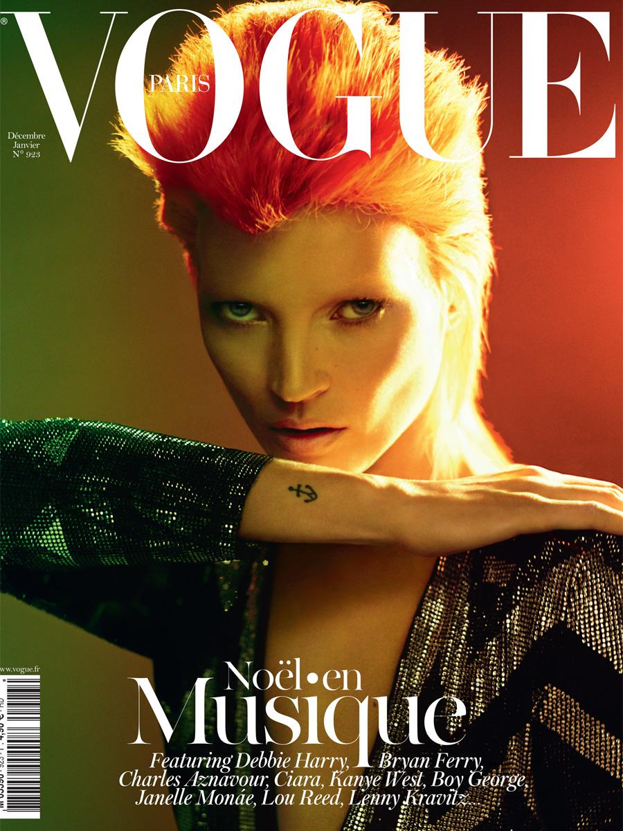 Vogue Paris January 2012
