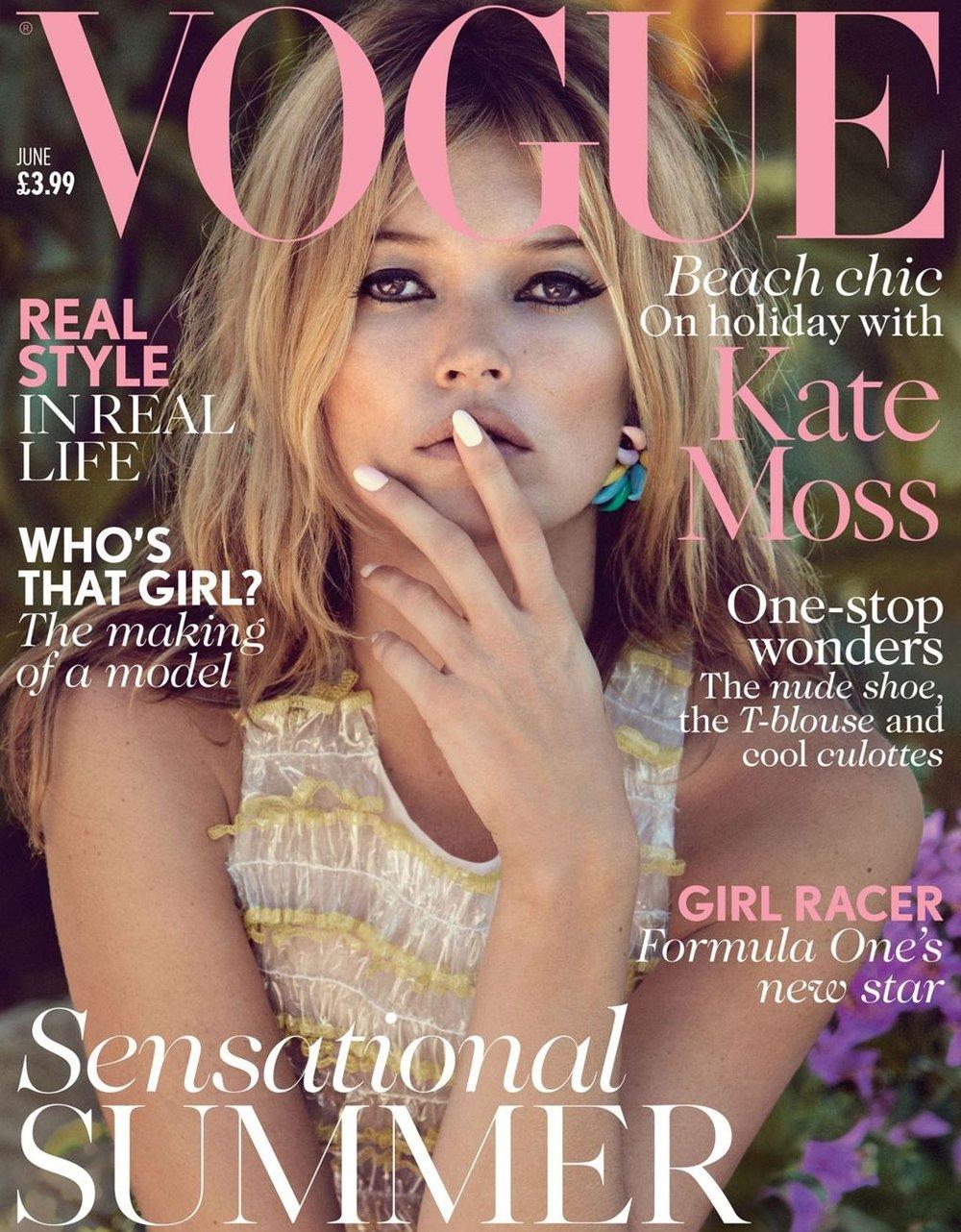 British Vogue June 2013