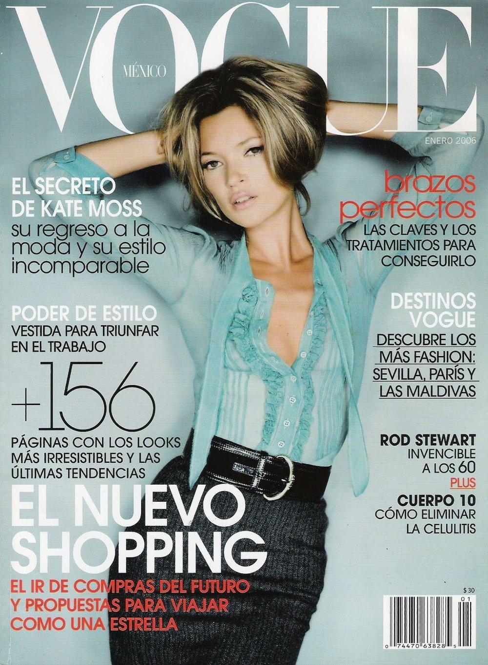 Vogue Mexico January 2006