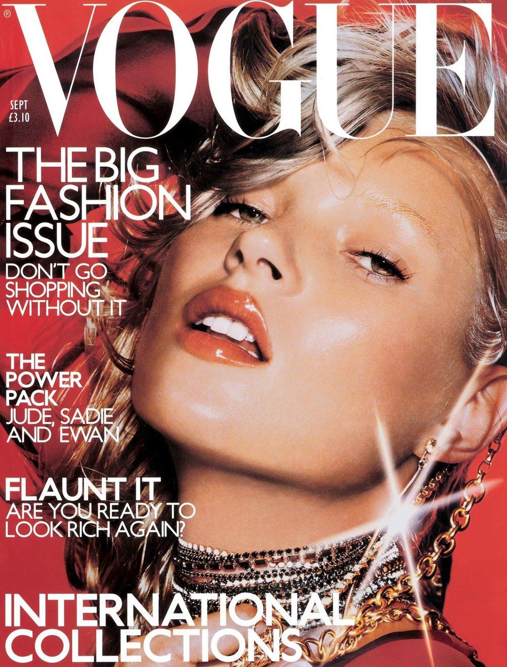 British Vogue September 2000