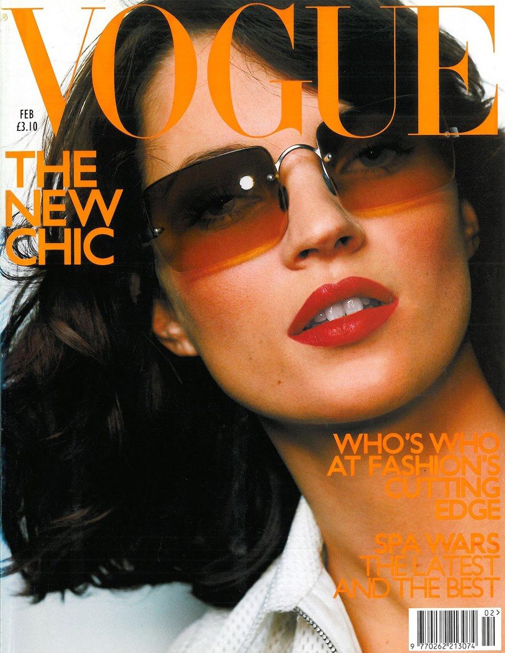 Vogue Brazil February 2000