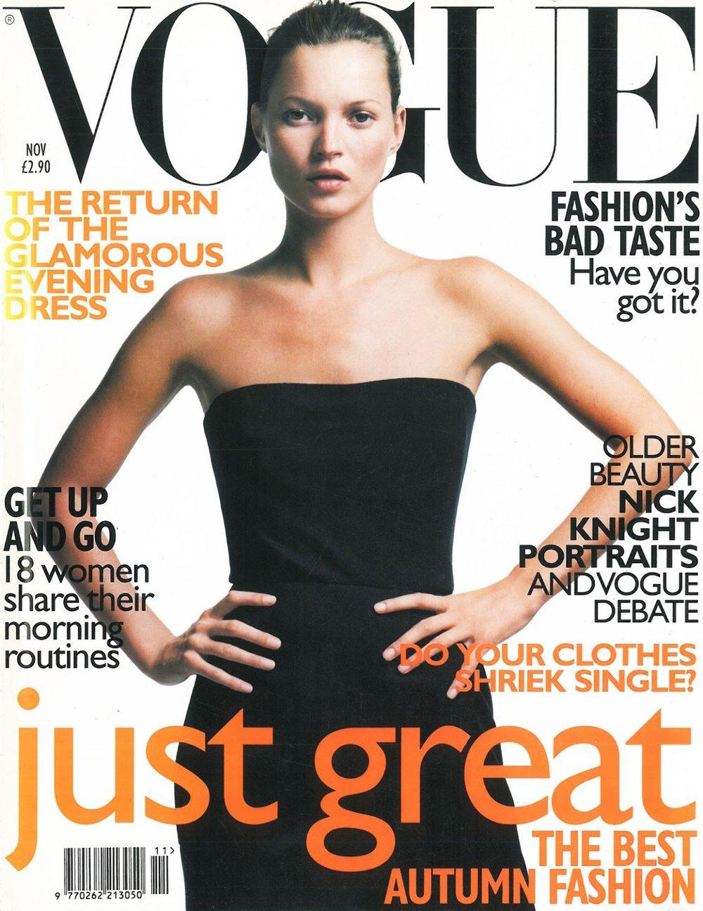 British Vogue November 1998