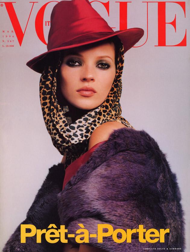 Vogue Italia March 1996