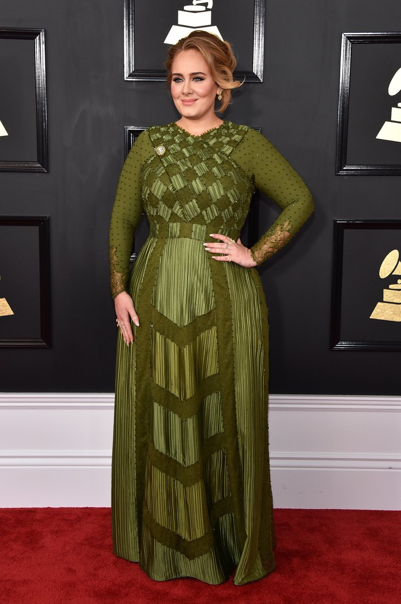 Adele in Givenchy couture