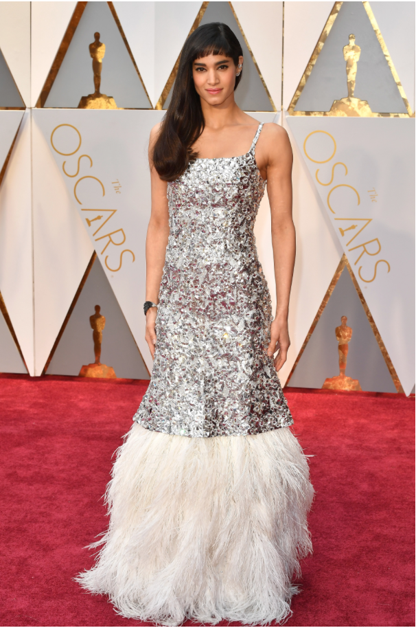 Sofia Boutella in Chanel couture