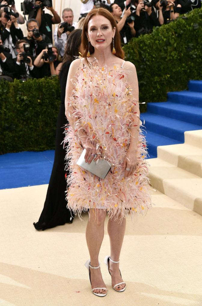 Julianne Moore in Calvin Klein