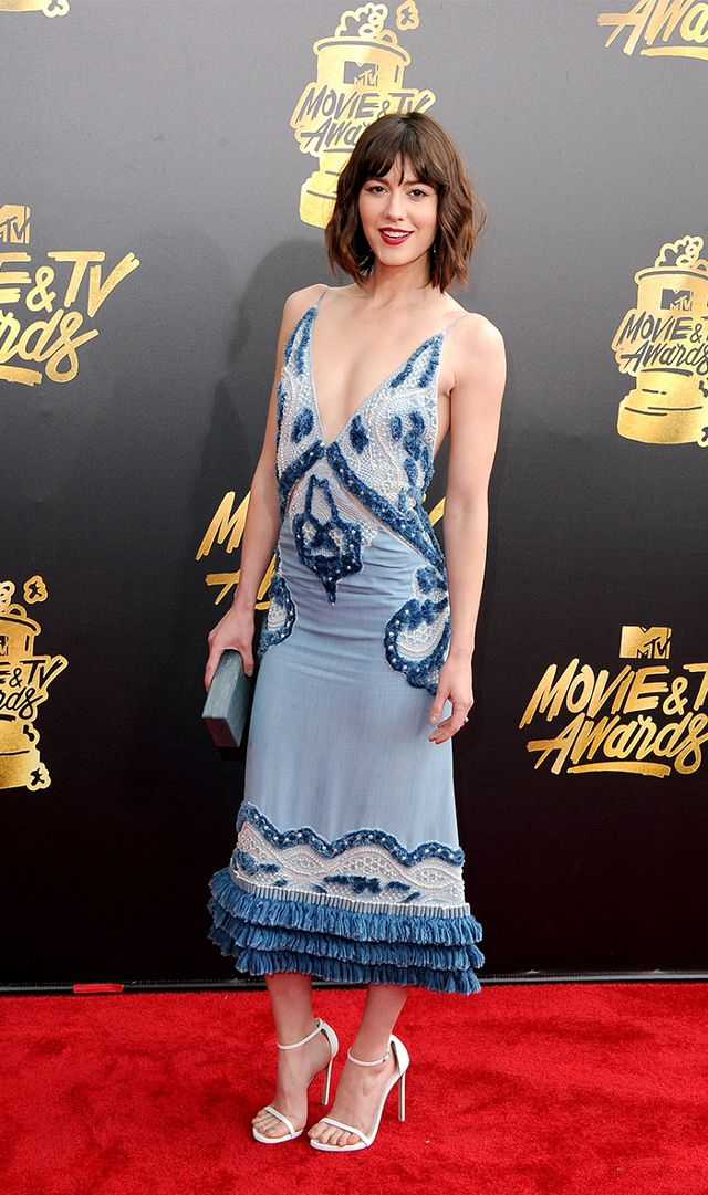 Mary Elizabeth Winstead in Jonathan Simkhai,