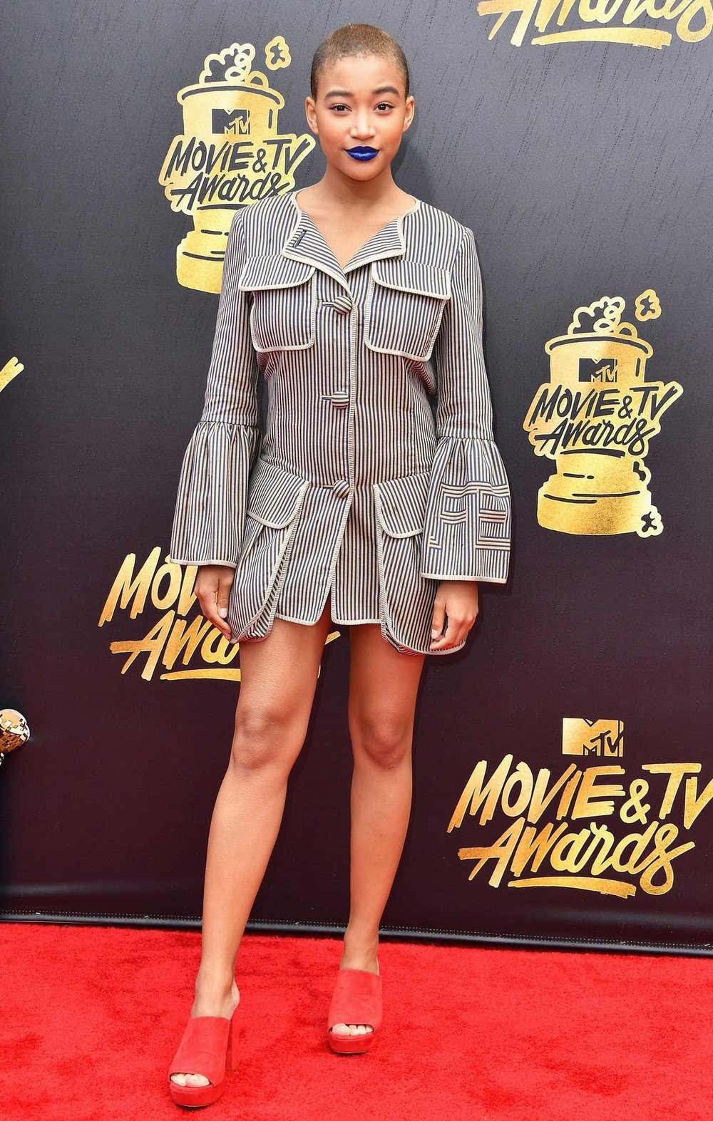 Amandla Stenberg in Fendi