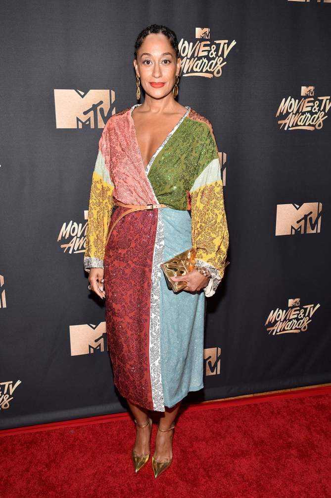 Tracee Ellis Ross in Rosie Assoulin