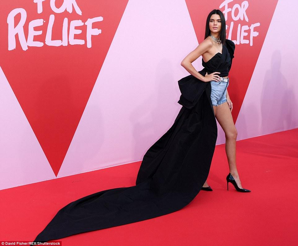 Kendall Jenner in Alexandre Vauthier