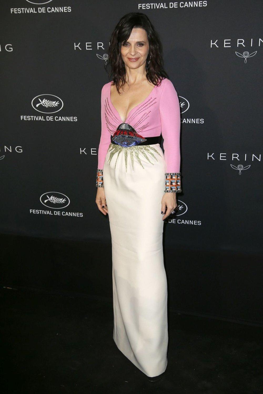 Juliette Binoche in Gucci