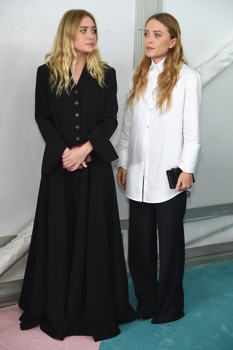 Ashley and Mary-Kate Olsen in The Row