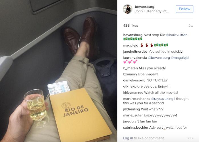 image: @Bevansburg Instagram (Teen Vogue's Style Director)