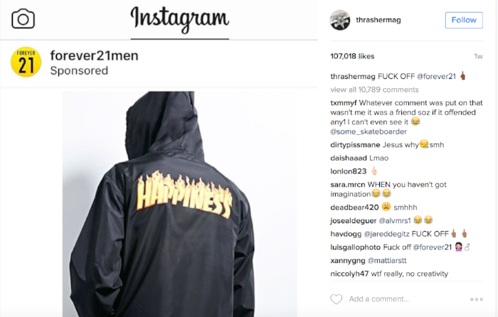 579577194e6c Paris-based it brand Vetements  adoption of the logo (which was almost  certainly legal