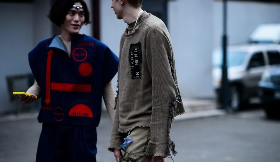 Street style at Tbilisi Fashion Week (image: Le21eme.com)