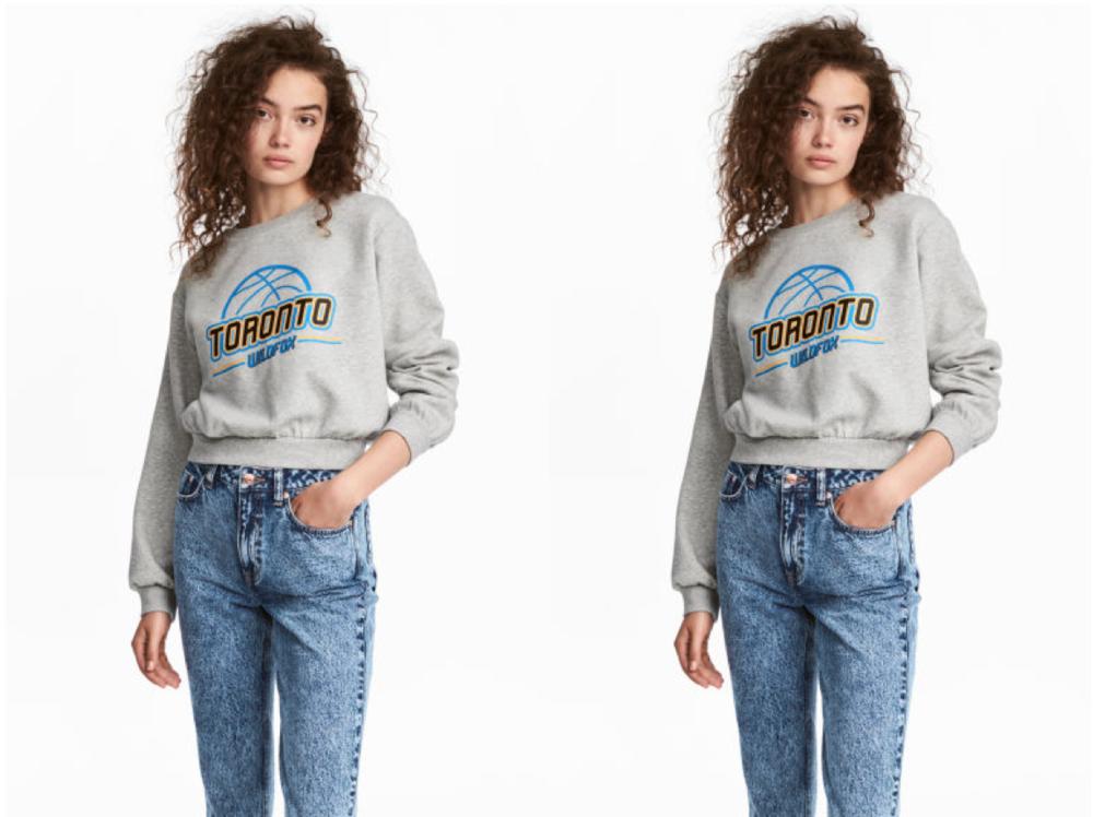 image: H&M's Motifsweatshirt