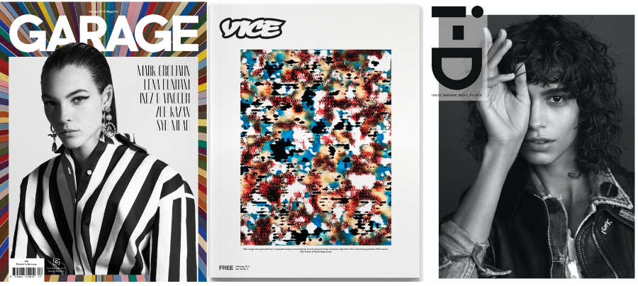 images: Garage, Vice, i-D