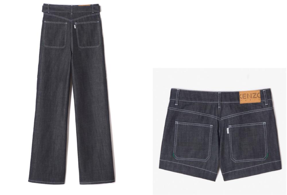image: Pocket tab on Kenzo's LA COLLECTION MEMENTO N°2 garments