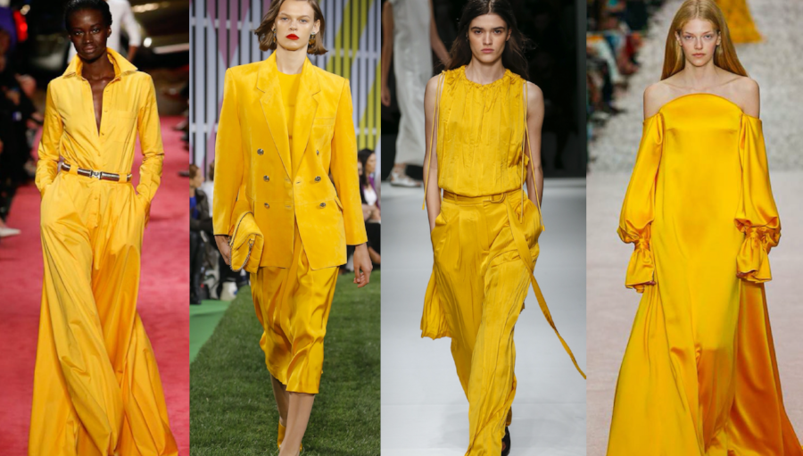 Why Aspen Gold Is All Over The Spring Summer 2019 Runways The