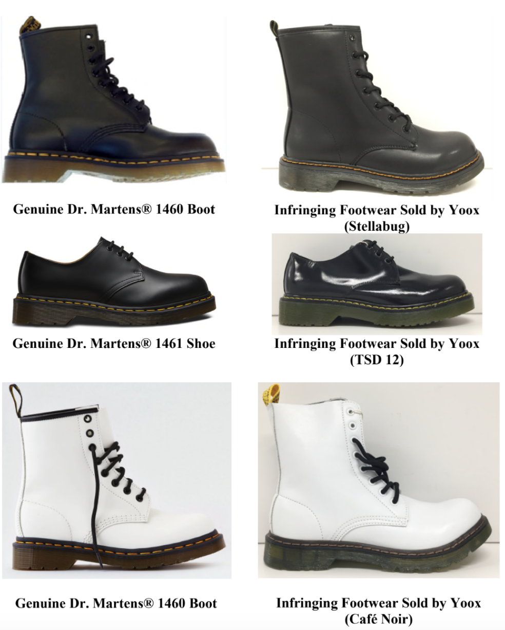 When is a Lace-Up Combat Boot Too Similar to a Dr. Martens Boot ... 0876fca166e
