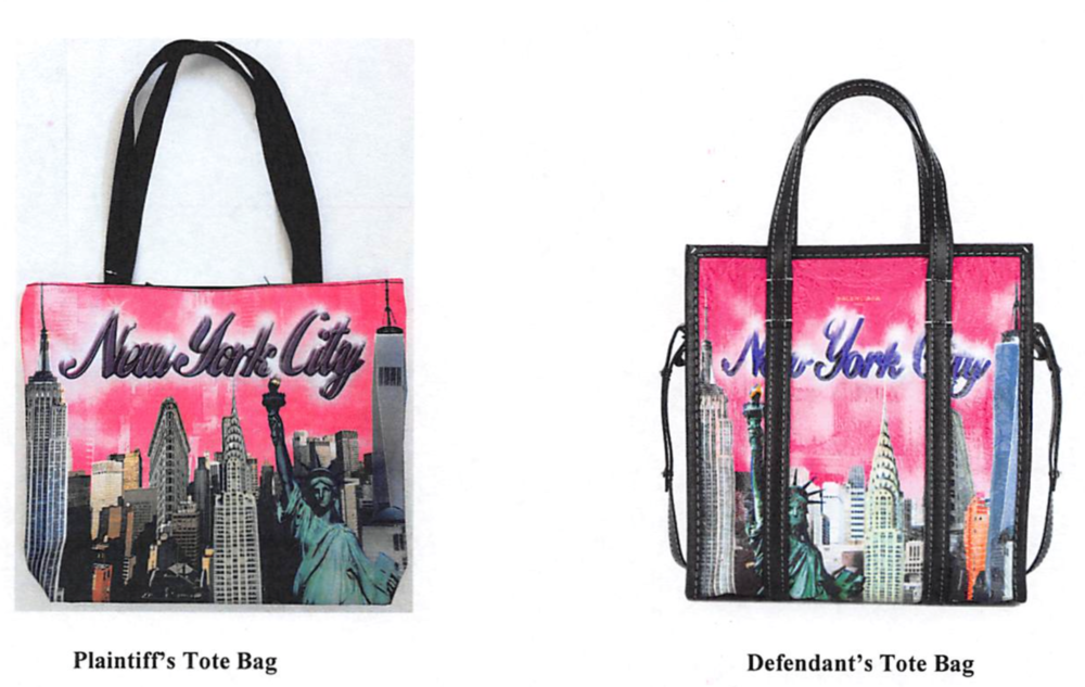 """City Merch specifically cited Balenciaga s """"copy"""" of the Ikea classic blue tote  bag and the brand s unauthorized adoption of the Ruff Ryder s logo as ... fb11fe6f8bdd7"""