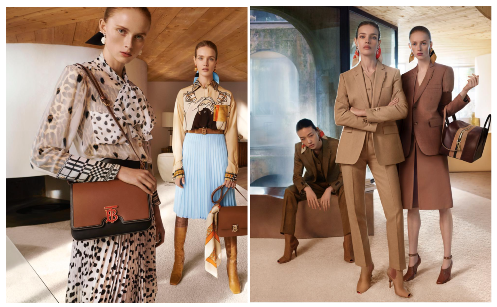 image: Burberry, a brand that was praised in Parliament's report