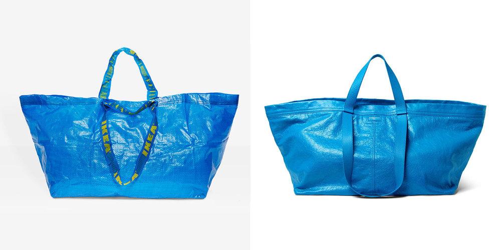images: Ikea, Balenciaga