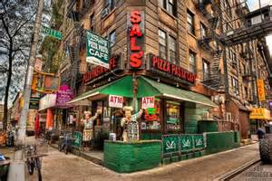 Sal's Pizza circa 1977 - 2011 location @ the corner of Broome and Mott Streets