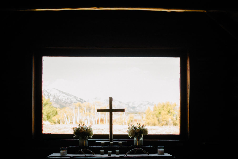 Chapel of Transfiguration Wedding Photography Grand Teton National Park