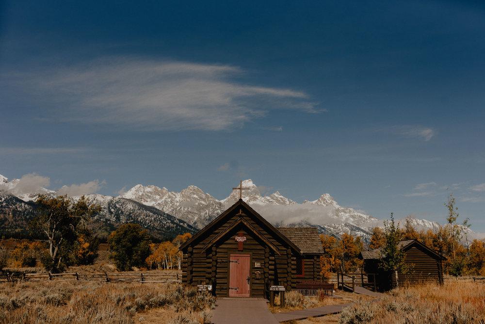 Chapel of Transfiguration Wedding Photographer, Grand Teton National Park, Autumn Jackson Hole