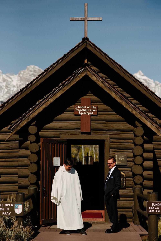 Chapel of Transfiguration Intimate Wedding