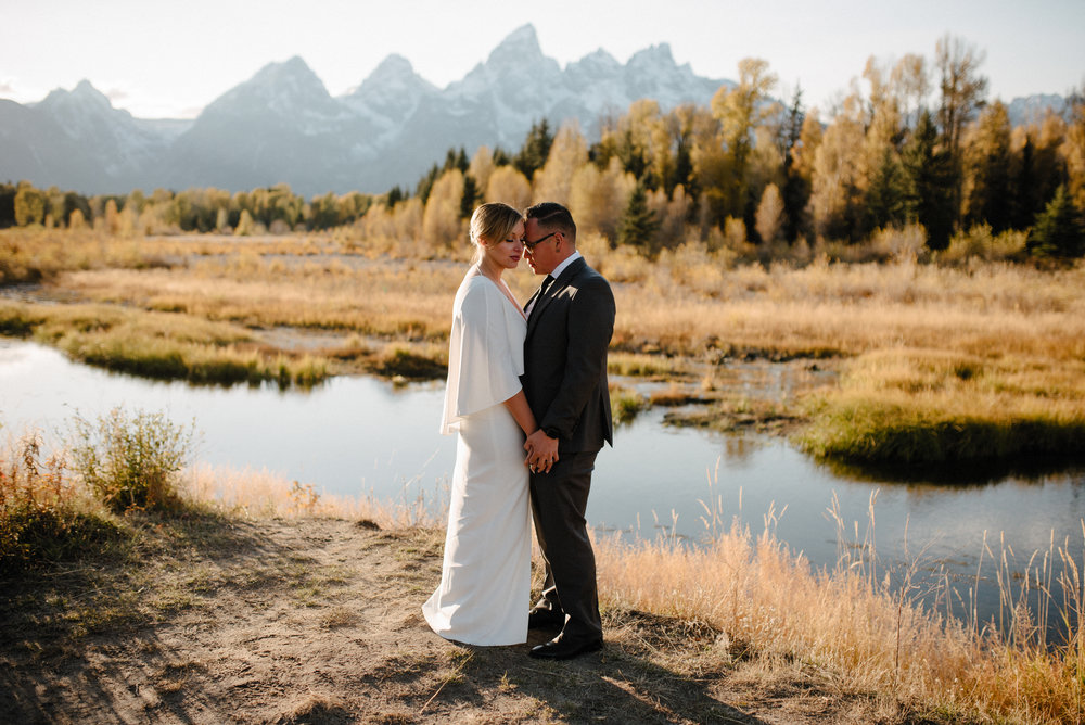 Grand Teton National Park Elopement Photographer