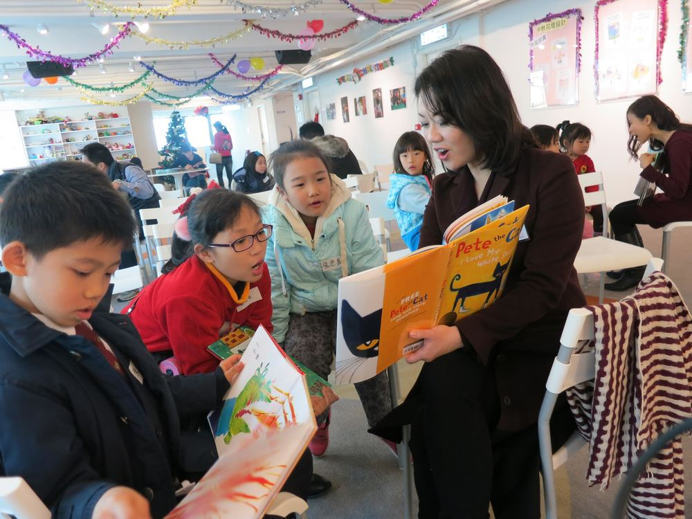 Bringing Books To Children   At Home and At School