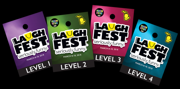 Laughfest Badges