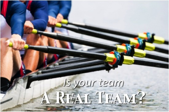 Is Your Team A Real Team by Tommy Kiedis at The Leader's Life & Work