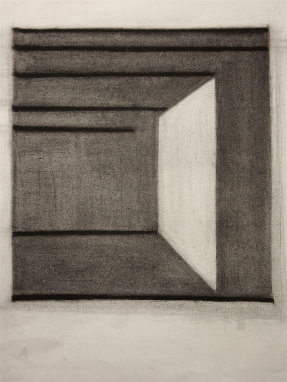 PS014, Charcoal on paper