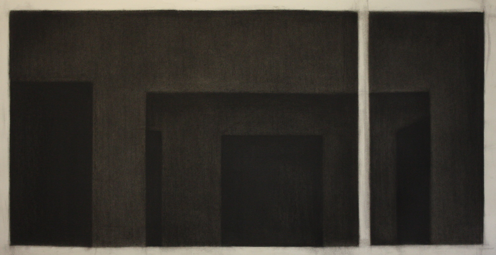 PS021, Charcoal on paper, 54x87cm