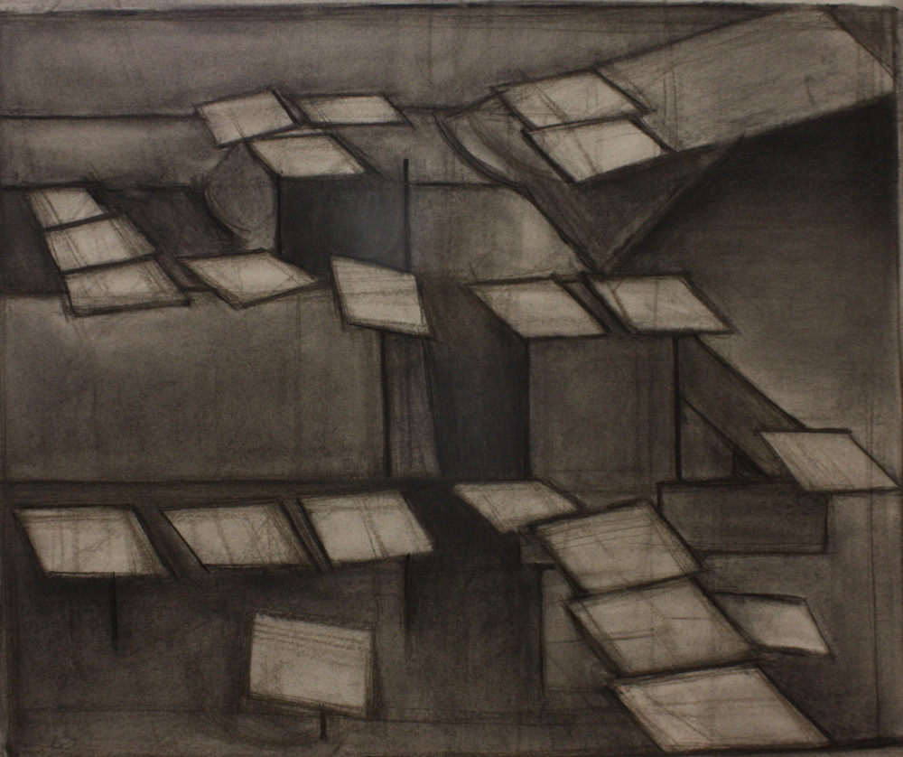 Spice02, Charcoal on paper, 59x71.5cm
