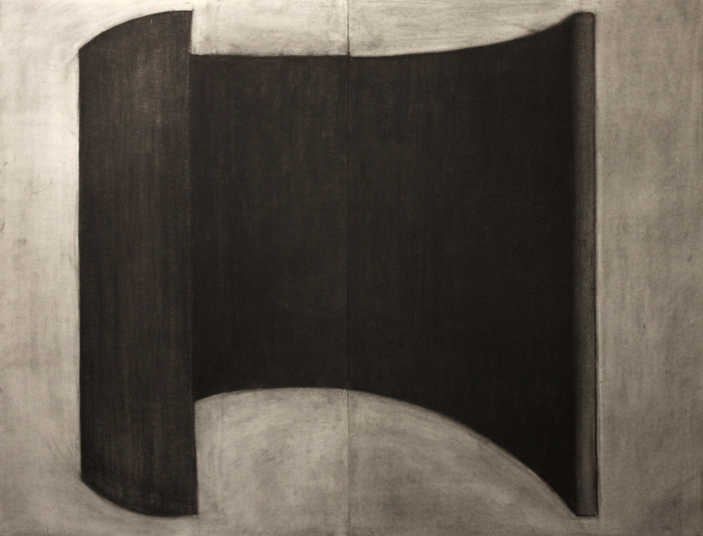 Sound003, Charcoal on paper, 89x115cm