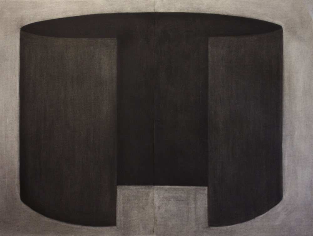 Sound002, Charcoal on paper, 89x115cm