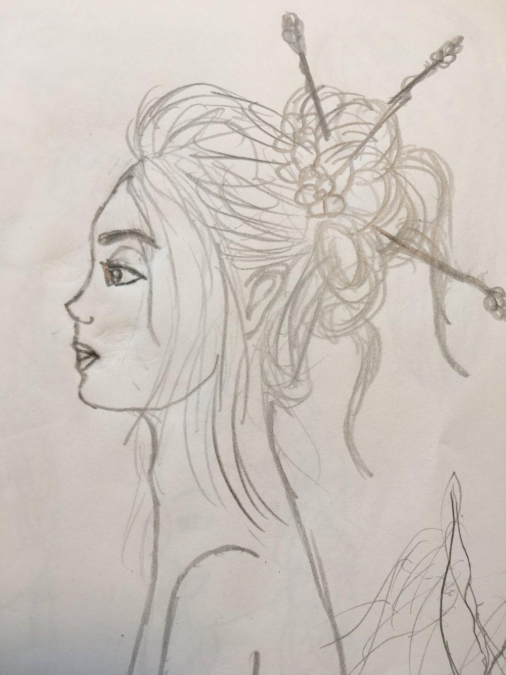 Woman (Pencil)