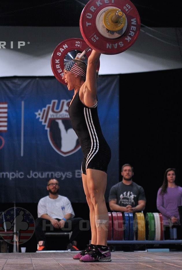 Jordan Weichers, california strength women's team  (picture by hookgrip)