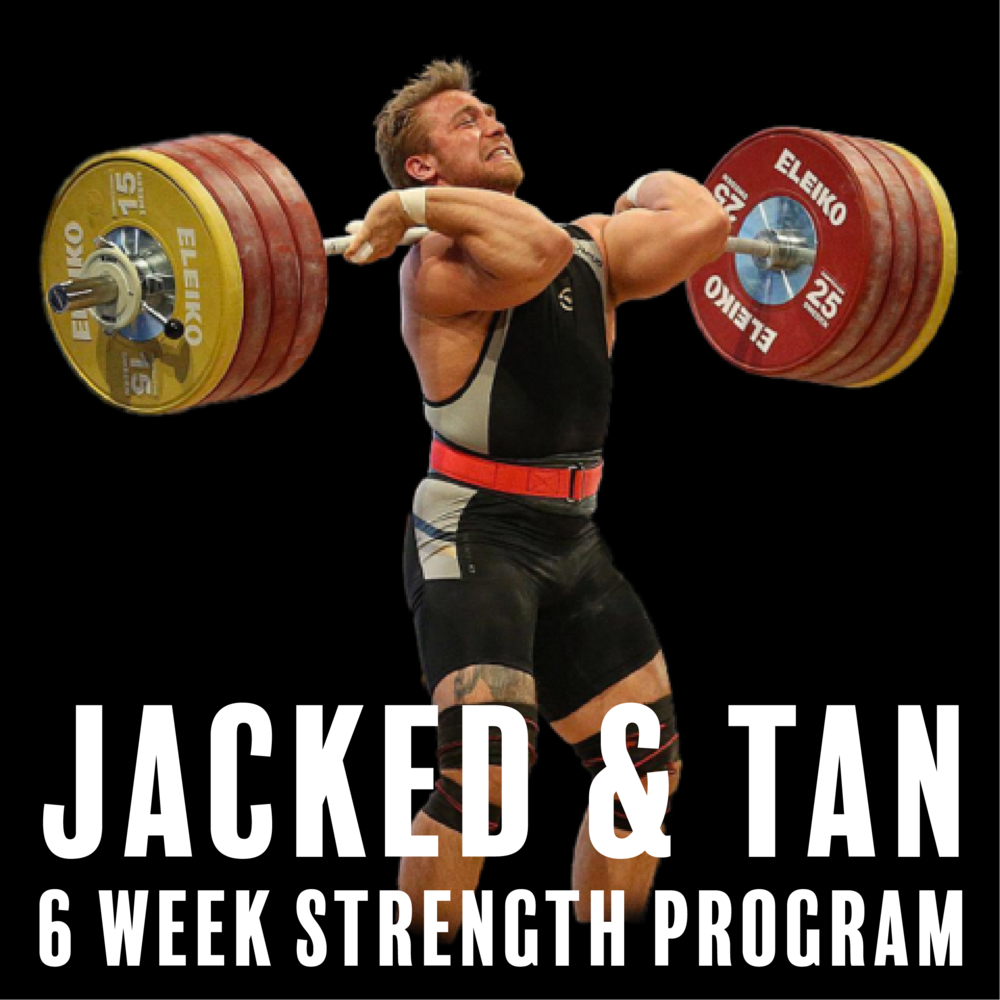 Jacked & tan program on trainheroic