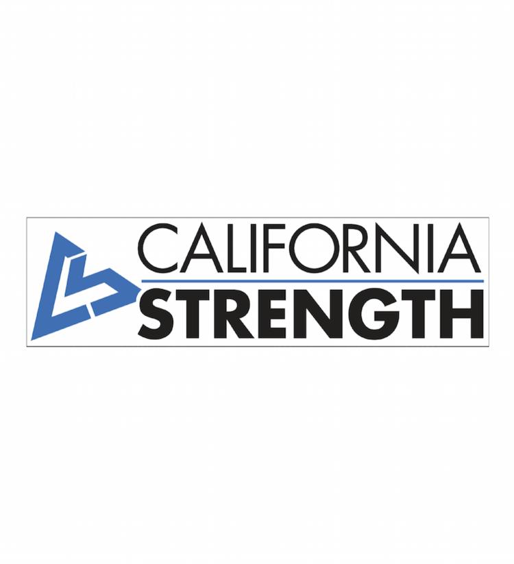 f85f4042a8d69 Cal Strength Bumper Sticker