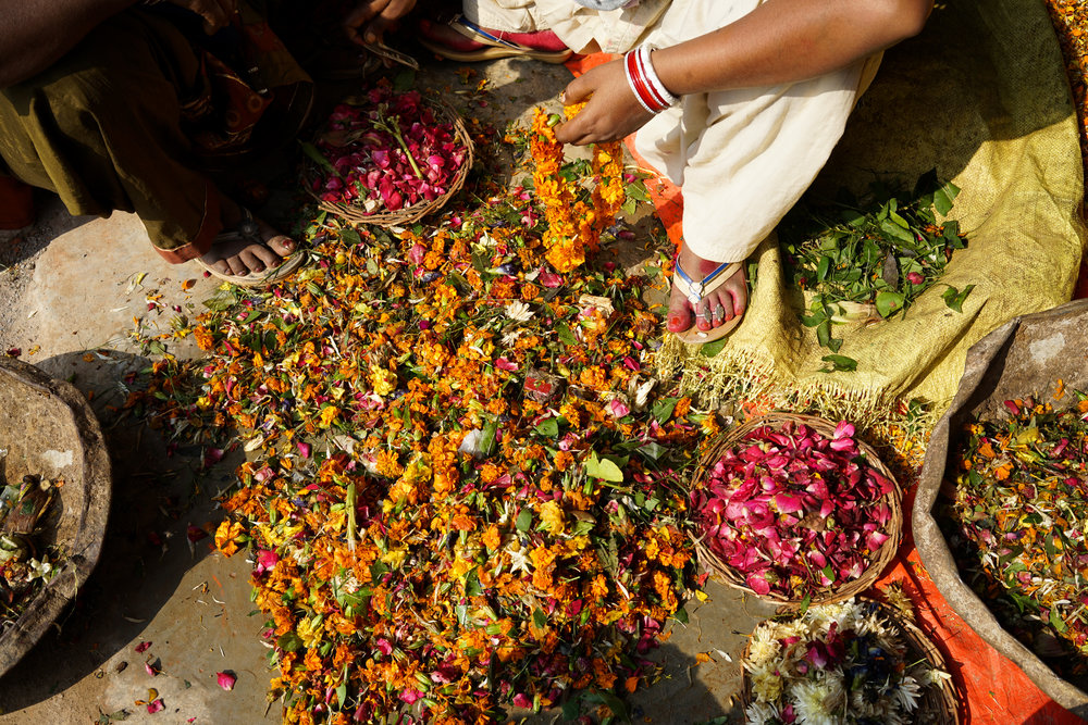 At the Helpusgreen factory over 950,000 kgs of temple waste has been repurposed.